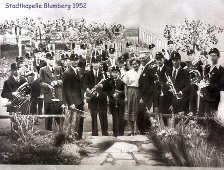 Stadtkapelle Blumberg 1952